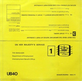 UB40 Signing Off back