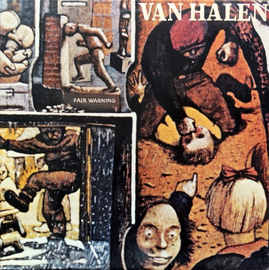 Van Halen Fair Warning front