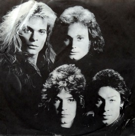Van Halen Fair Warning inner front