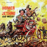 Homer and Jethro Go West front