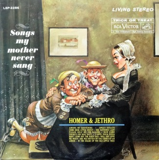 Homer and Jethro Songs My Mother front