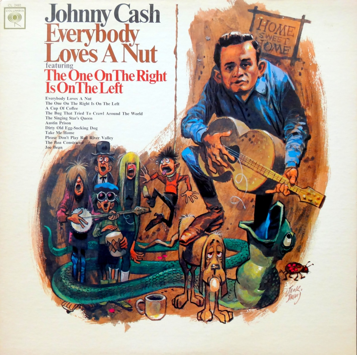 From The Stacks: Johnny Cash, 'Everybody Loves A Nut'