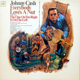 Johnny Cash Everybody Loves front