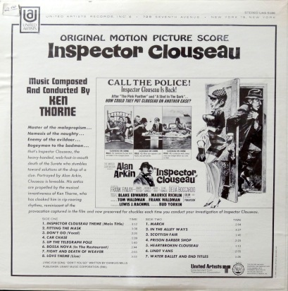 Ken Thorne Inspector Clouseau back