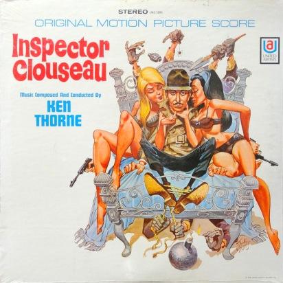 Ken Thorne Inspector Clouseau front