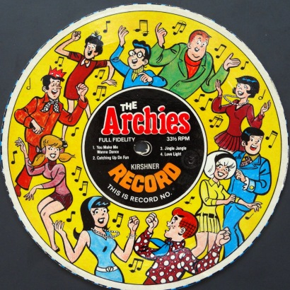 Archies You Make Me yellow