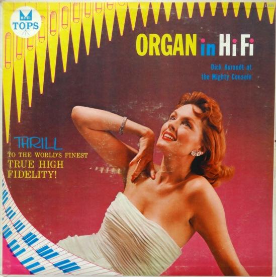 Organ in Hi Fi front