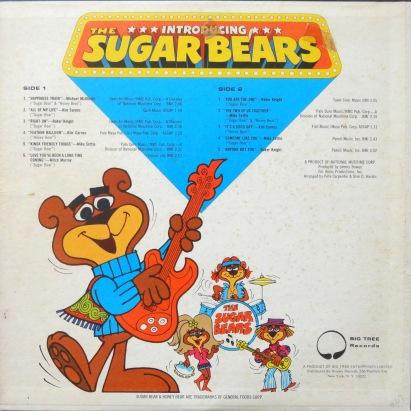 Sugar Bears Presenting back