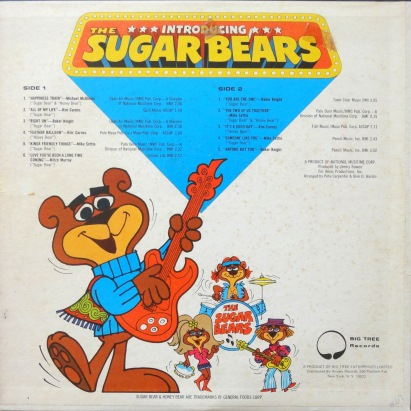 Sugar Bears Presenting back
