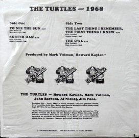 Turtles 1968 back