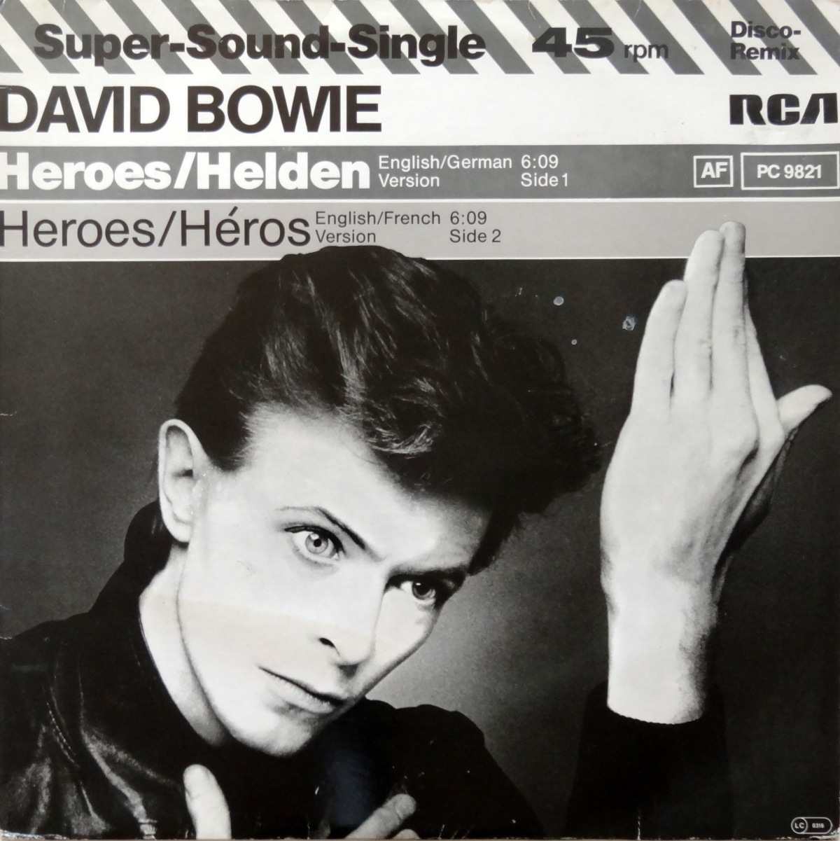 "From The Stacks: David Bowie, ""Heroes"" (12-Inch German/French Single)"