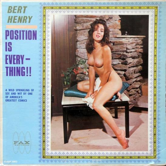 Burt Henry Position Is Everything