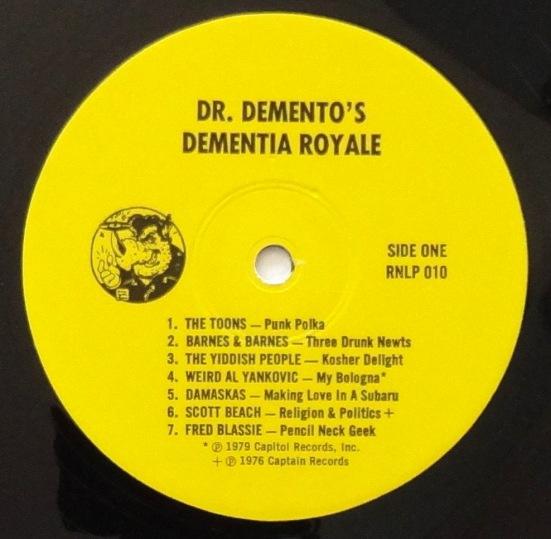 Dr Demento Dementia Royale a