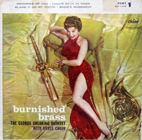 George Shearing Burnished Brass