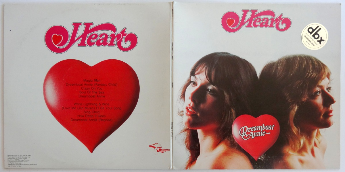 From The Stacks: Heart, 'Dreamboat Annie' (dbx pressing)