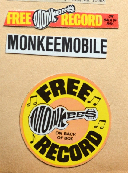 Monkees Cereal Box A