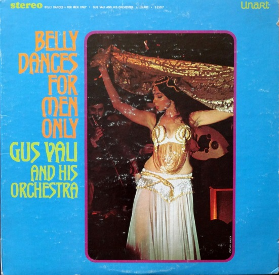 Gus Vali Belly Dance front