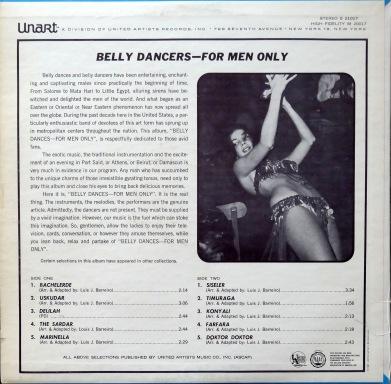 Gus Vali Belly Dance xback