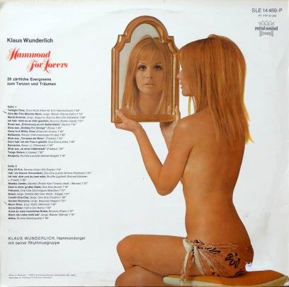 Klaus Wunderlich Hammon For Lovers xback