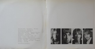 Beatles White Album German inner