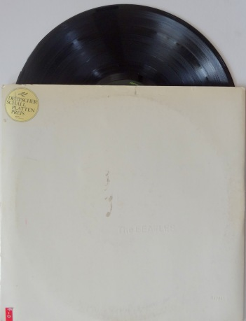 Beatles White Album German top loader