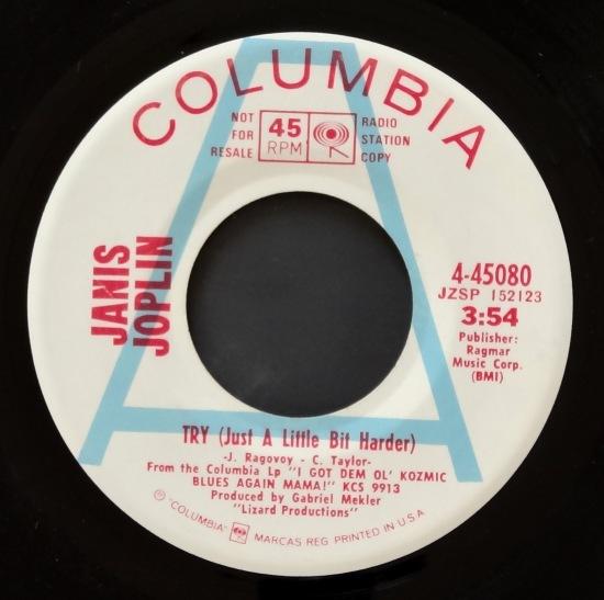 Janis Joplin Try A