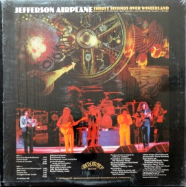 Jefferson Airplane Thirty Seconds back