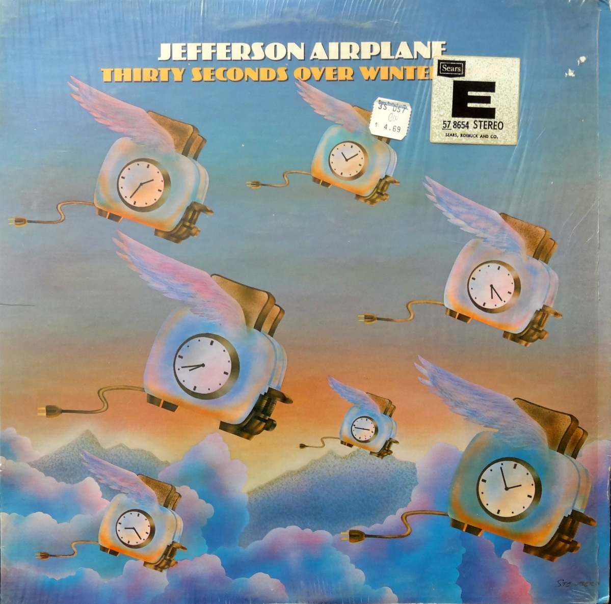 From The Stacks: Jefferson Airplane, 'Thirty Seconds Over Winterland'