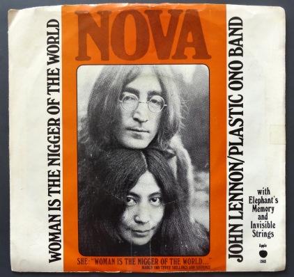 John Lennon Woman front