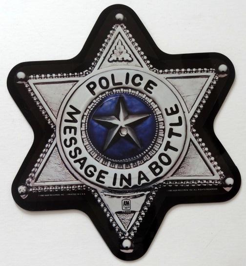 Police Message vinyl a