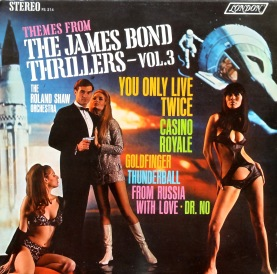 Rolan Shaw James Bond front