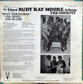 Rudy Ray Moore Cockpit back