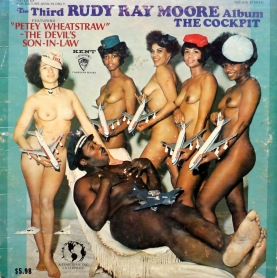 Rudy Ray Moore Cockpit front
