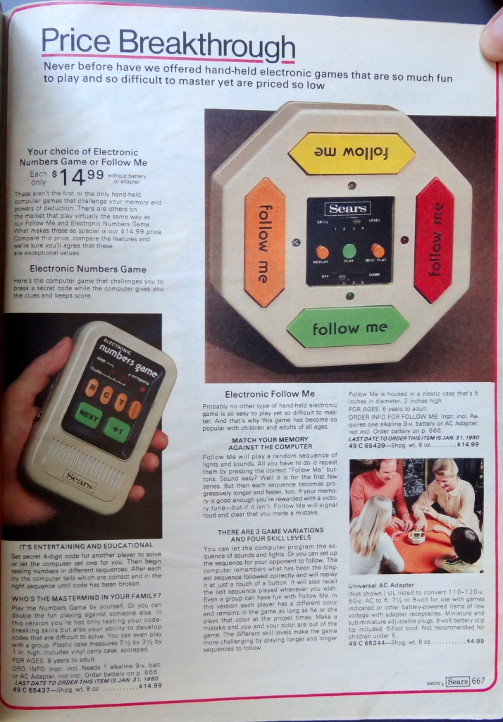 Sears Catalog 1980