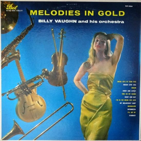 Billy Vaughn Melodies In Gold