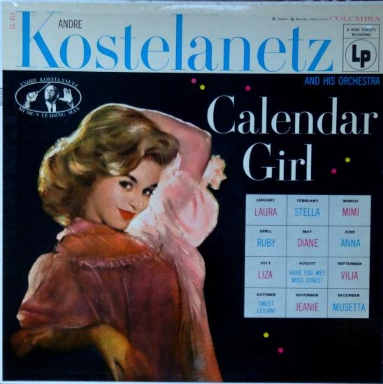 kostelanetz calendar girl