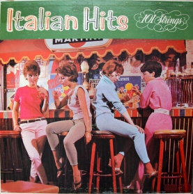 101 Strings Italian Hits front