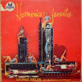 George Fields Harmonica Favorites front