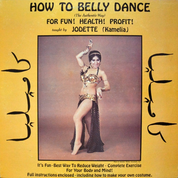 Jodette How To Belly Dance front