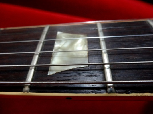 Les Paul fret board