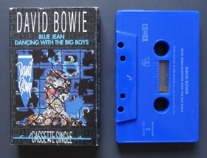 Bowie Blue Jean tape 1
